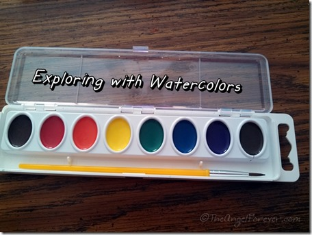 Exploring with Watercolor paints