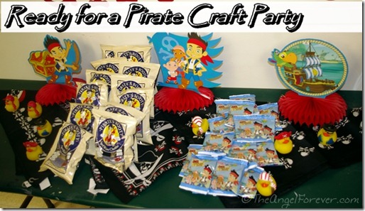 Pirate Craft Party