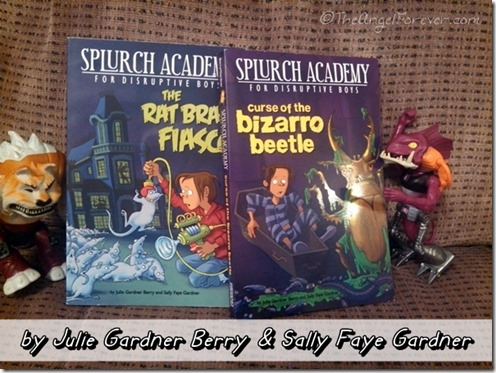 Splurch Academy for Disruptive Boys Books