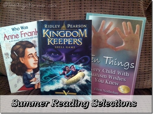 Summer Reading Selections