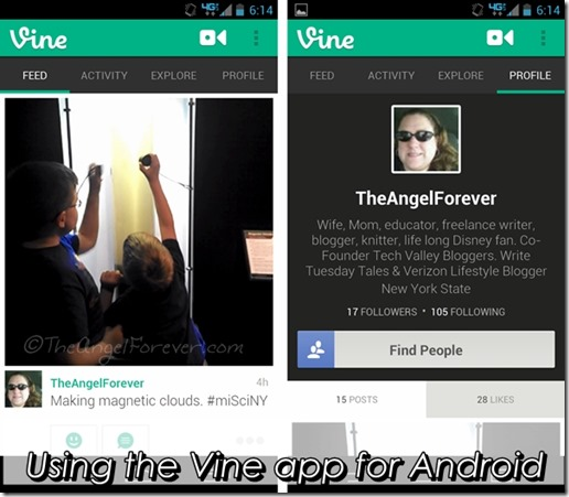 The Vine App for Android