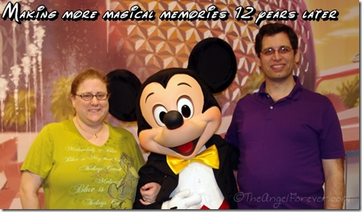 With Mickey Mouse 12 almost 12 years later