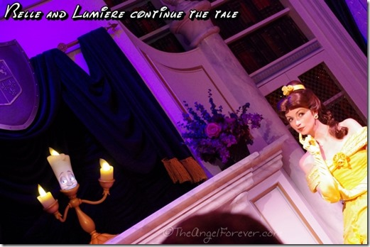 Belle and Lumiere in New Fantasyland