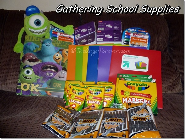 Gathering School Supplies