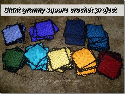 Giant granny square project