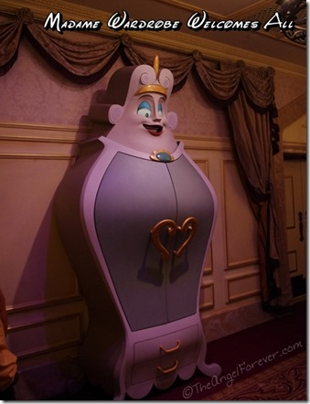 Madame Wardrobe in Enchanted Tales with Belle