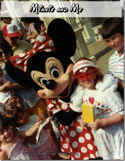 Minnie and Me in the 1980s