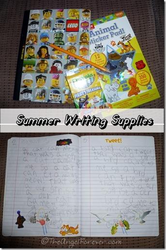 Summer Writing Supplies