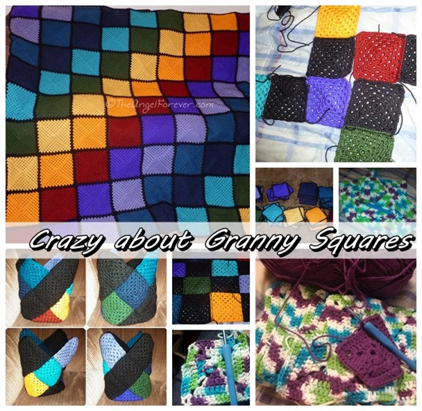 Crazy about Crocheted Granny Squares