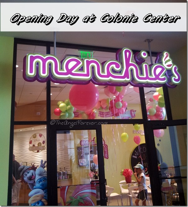 Menchie's Opening Day at Colonie Center