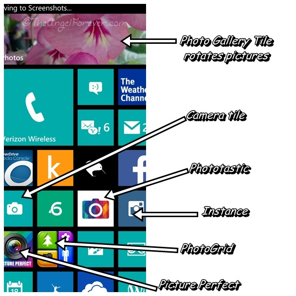 My Lumia 928 Screen