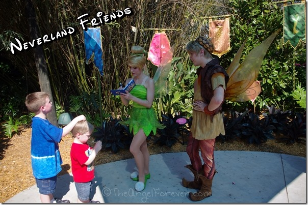 Neverland friends at Epcot