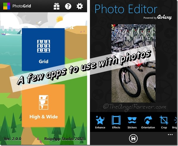PhotoGrid and Picture Perfect for Windows OS