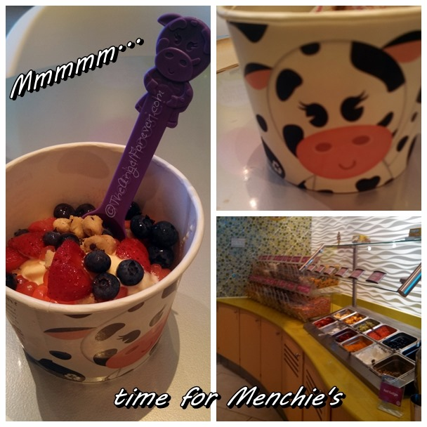Trying out Menchie's