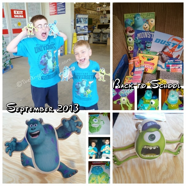 Back to School with Monsters University