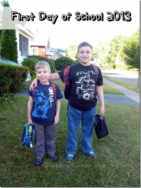 First Day of School - September 2013