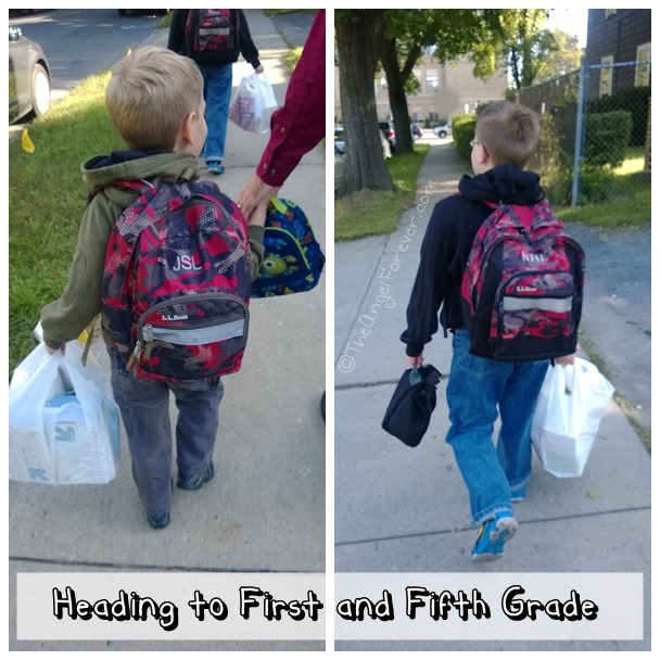 First and Fifth grader