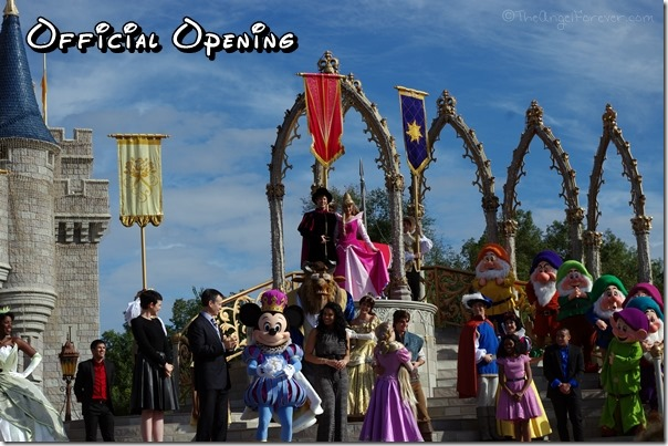 Official Opening of New Fantasyland