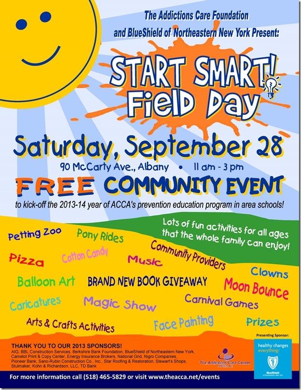 Poster_Start_Smart_Field_Day_2013