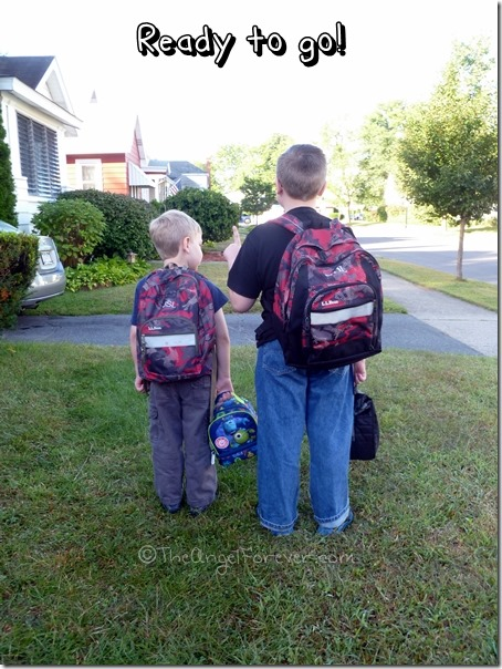 Ready to go to school together