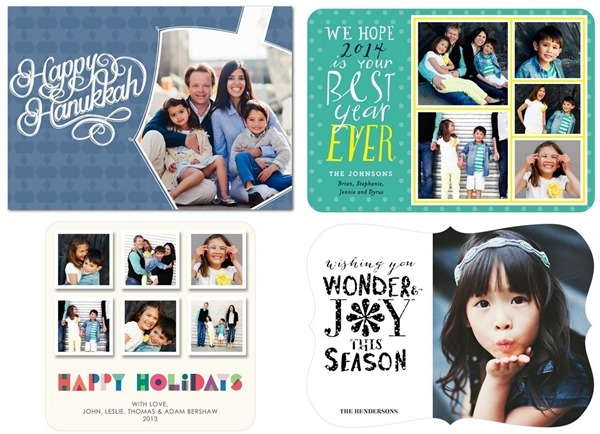 2014 Holiday Cards from Tiny Prints