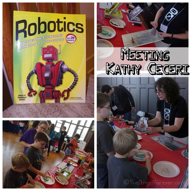 Meeting Robotics Author Kathy Ceceri