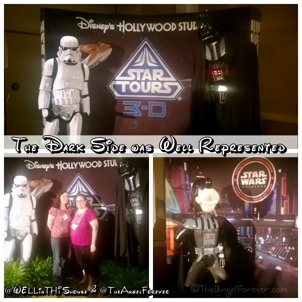 The Dark Side represented at TypeACon Star Wars Party