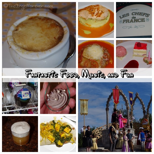 Walt Disney World Food, Music, and Fun