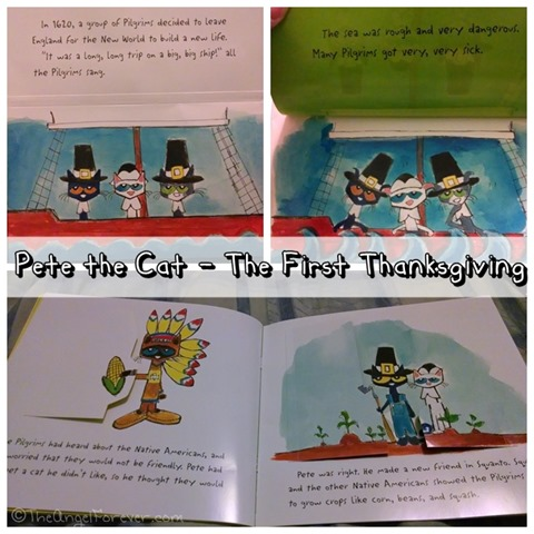 Inside Pete the Cat - The First Thanksgiving