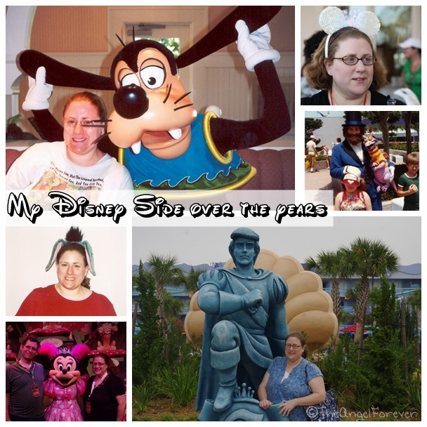 My Disney Side over the years