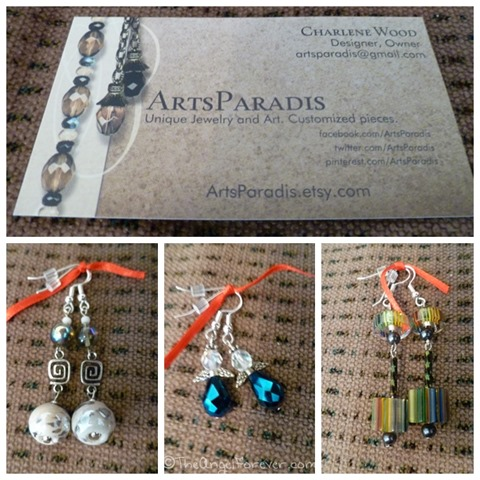 Earrings from Arts Paradis