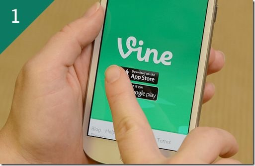 Setting up the Vine App