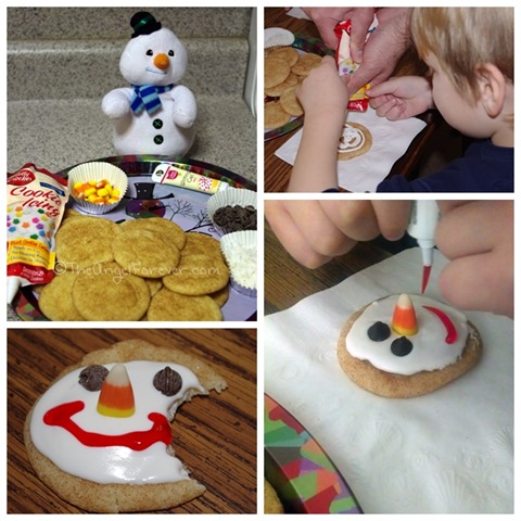 Snowman cookie fun #shop
