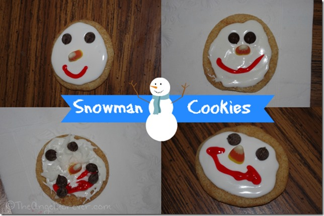 Snowman cookies for kids #shop