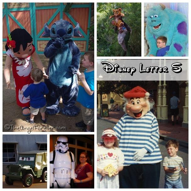 Disney Letter S
