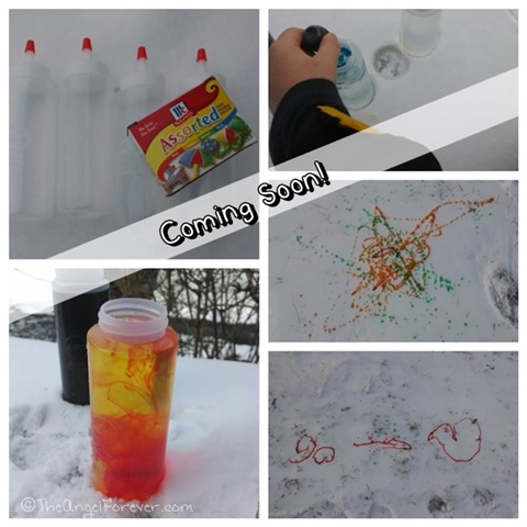 Snow Paint Fun and Learning