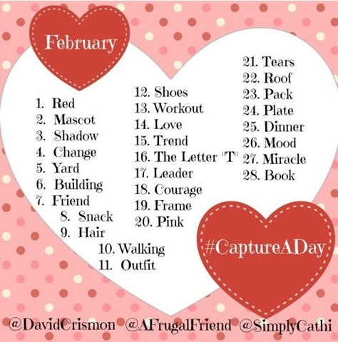 #CaptureADay Instagram Photo Challenge