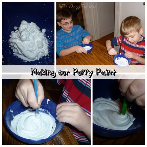 Making Puffy Paint