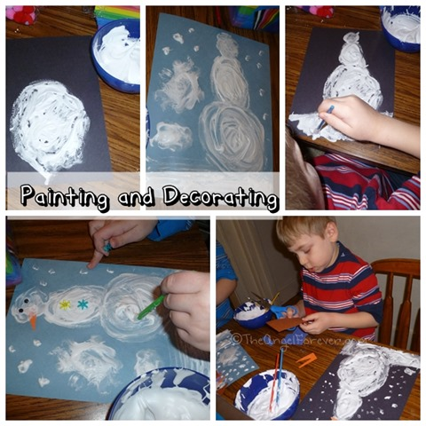 Painting and Decorating Snowmen
