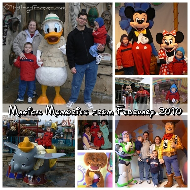 Walt Disney World in February 2010