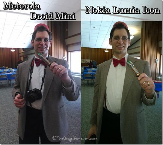 Droid Mini vs Lumia Icon