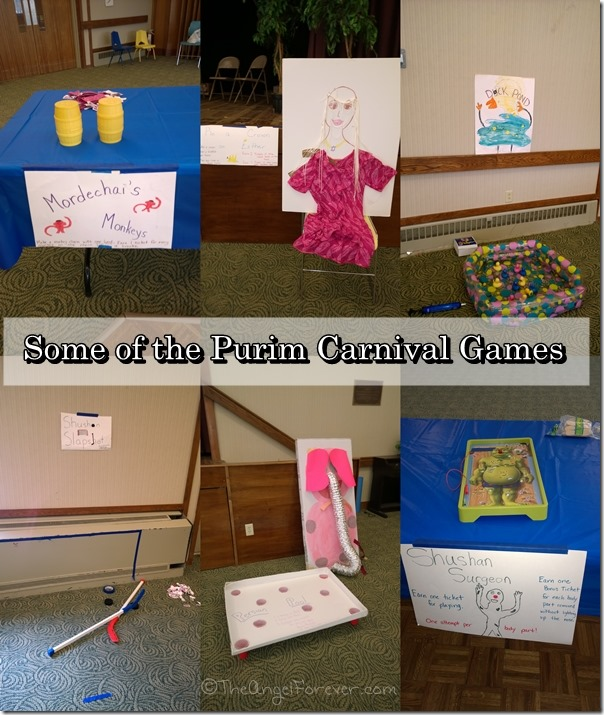Purim Carnival Games