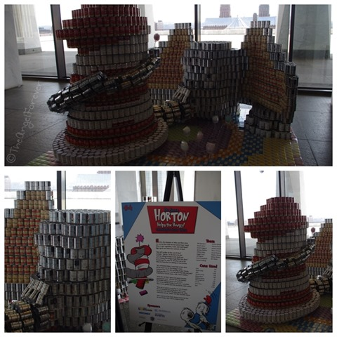 Capital Region Canstruction - Horton Helps the Hungry
