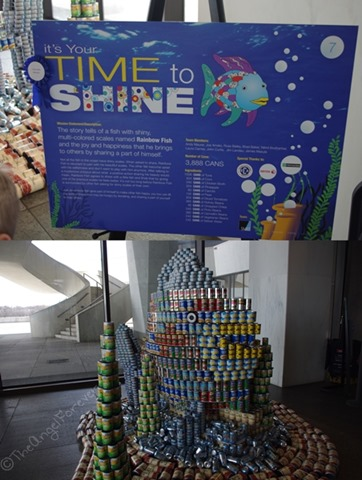 Capital Region Canstruction - The Rainbow Fish