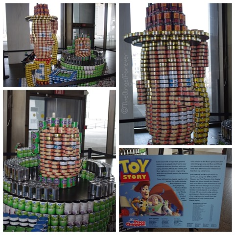 Capital Region Canstruction - Toy Story