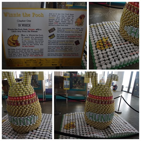 Capital Region Canstruction - Winnie the Pooh