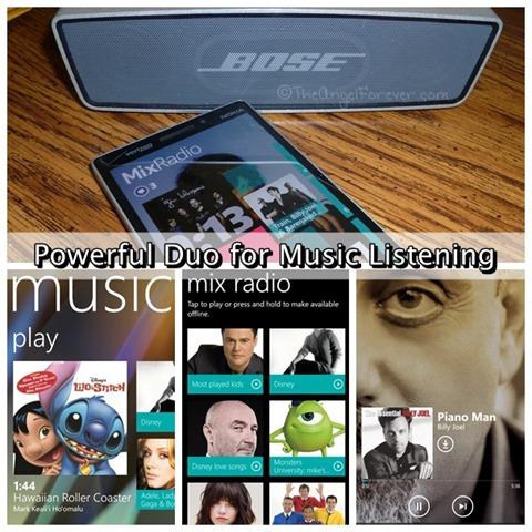 Nokia Icon MixRadio and BOSE SoundLink Mini
