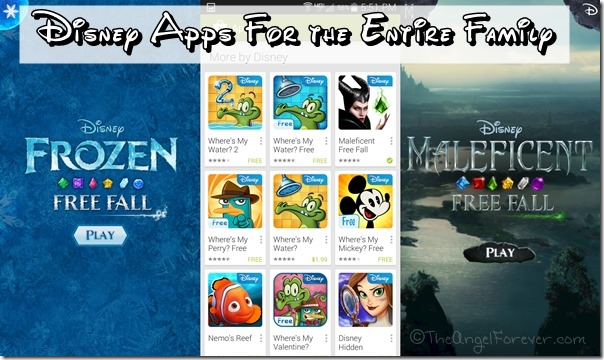 Disney Apps for the Entire Family