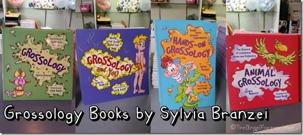Grossology books by Sylvia Branzei