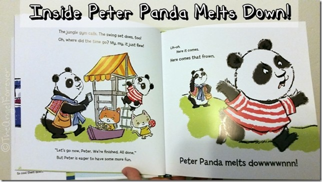 Inside Peter Panda Melts Down! by Artie Bennett